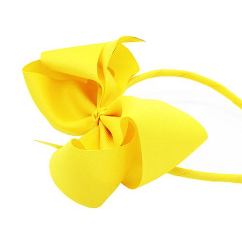 yellow headband